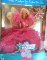 Vintage Boxed 1991 Happy Holidays Barbie Gran Gala European Issue Doll.
